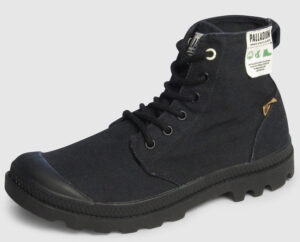 Palladium Pampa Hi Organic - black