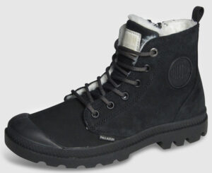 Palladium Pampa Hi Zip Nubuk gefüttert Women - black