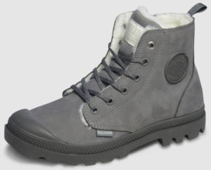 Palladium Pampa Hi Zip Nubuk gefüttert Women - cloud
