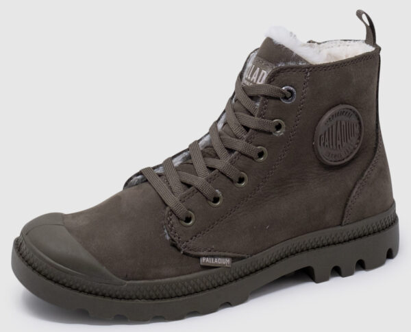 Palladium Pampa Hi Zip Nubuk gefüttert Women - major brown