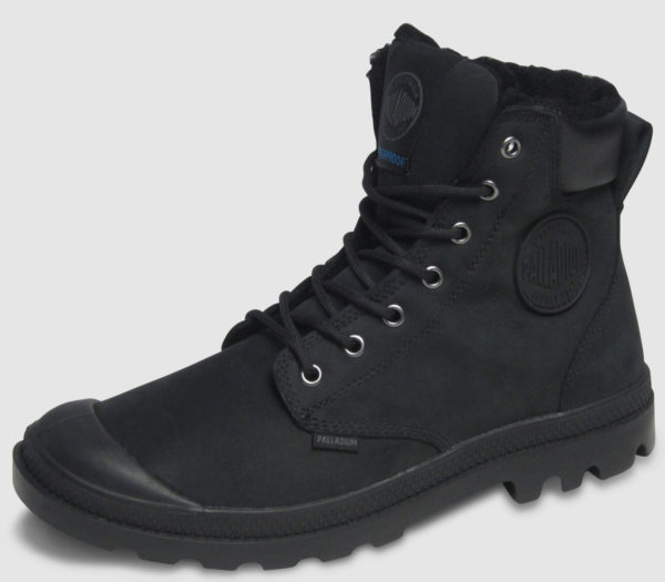 Palladium Pampa Sport Cuff Waterproof Shirling - black