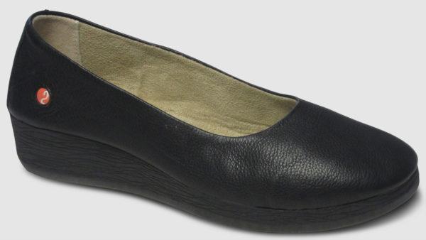 Softinos Asa Smooth Leather Women - black