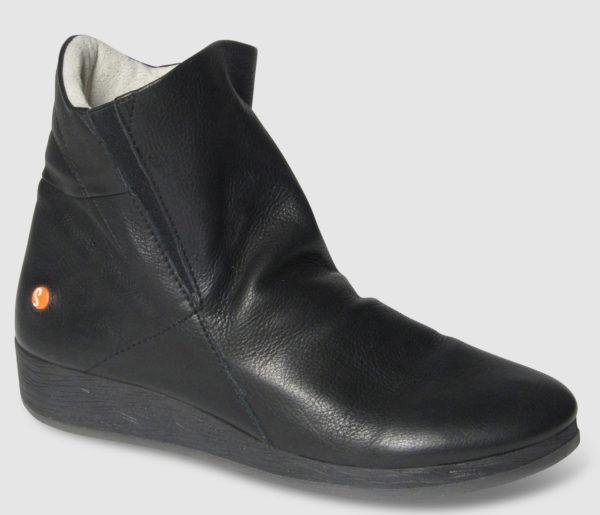 Softinos Asti Smooth Leather Women - black