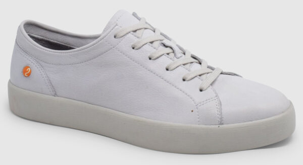 Softinos Ross Smooth Leather - white