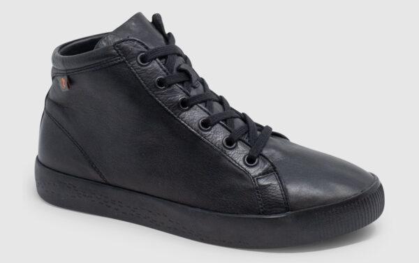 Softinos Sage Soft Leather Women - black