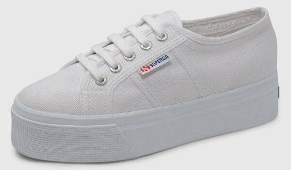 Superga Classic Plateau - white