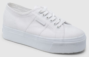 Superga Plateau - total white