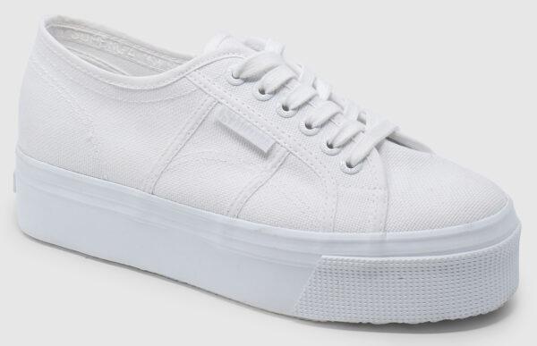 Superga Plateau - total white