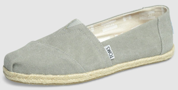 Toms Alpargata Canvas Women - washed grey