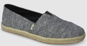 Toms Alpargata Rope Women - chambray tiny dots