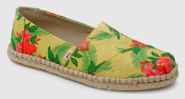 Toms Alpargata Rope Women - yellow-hibiscus