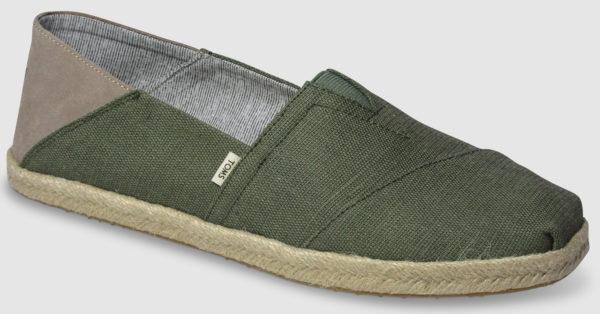 Toms Alpargata Rope - green