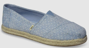 Toms Alpargata Women - sky tiny dots