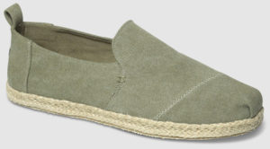Toms Deconstructed Alpargata Washed Canvas - olive