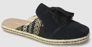 Toms Nova - black woven