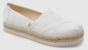 Toms Platform Alpargata Women - white