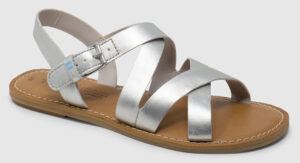 Toms Sicily Leather Women - silver