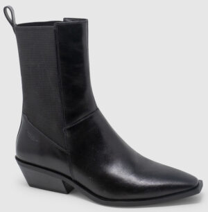 Vagabond Ally Bootie Hi Leather - black