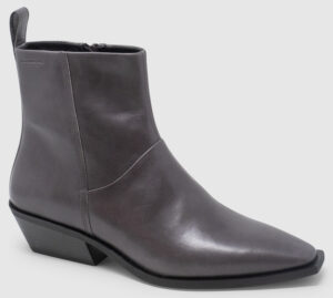 Vagabond Ally Bootie Leather - grey