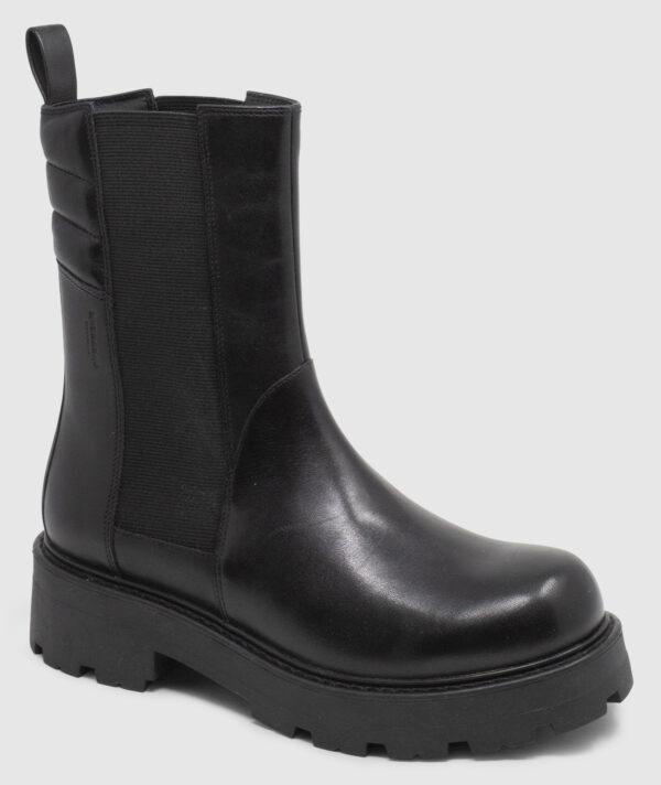 Vagabond Cosmo Chelsea Hi Leather - black