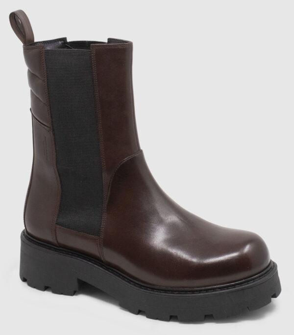 Vagabond Cosmo Chelsea Hi Leather - brown