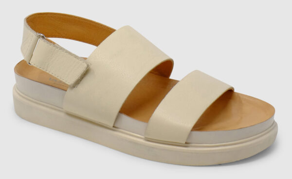 Vagabond Erin Sandal Leather - offwhite