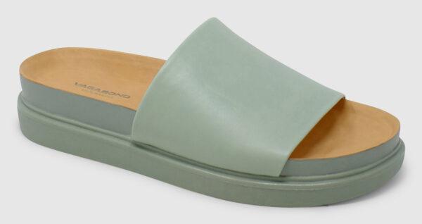 Vagabond Erin Slide Leather - dusty mint