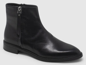 Vagabond Frances Bootie Zip Leather - black