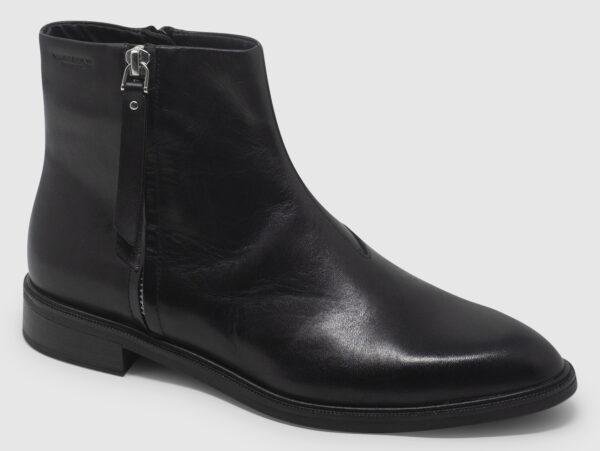 Vagabond Frances Bootie Zip Leather - black