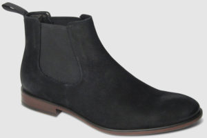 Vagabond Harvey Chelsea Nubuk - black
