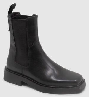 Vagabond Jillian Chelsea Hi Leather - black