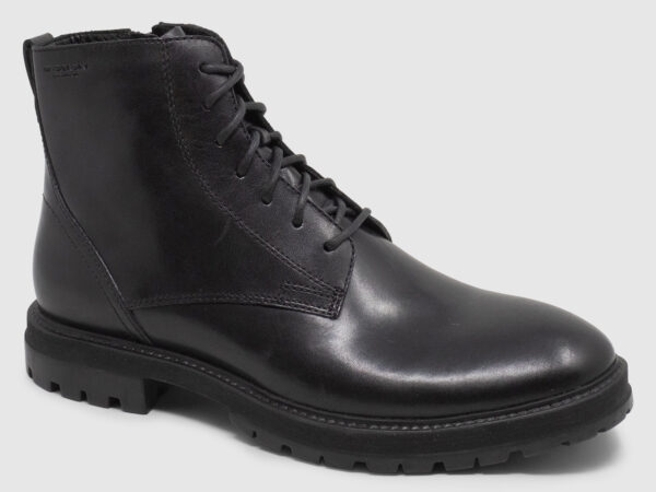 Vagabond Johnny Bootie Lace Leather - black