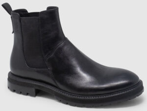Vagabond Johnny Chelsea Leather - black