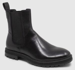 Vagabond Johnny Chelsea Leather - black