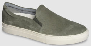 Vagabond Paul Slip Suede - light olive