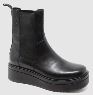 Vagabond Tara Chelsea Hi Leather - black