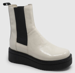 Vagabond Tara Chelsea Leather - cream