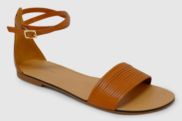 Vagabond Tia Ankle Leather - saddle