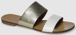 Vagabond Tia Leather - gold-white