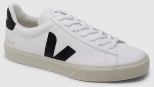 Veja Campo Leather - white-black