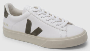 Veja Campo Leather - white-kaki