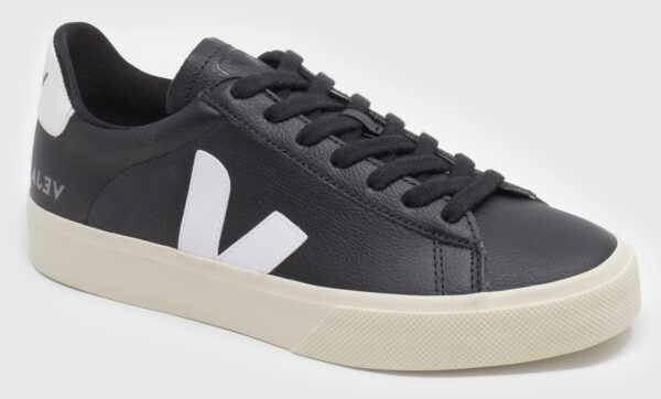 Veja Campo Leather - black-white