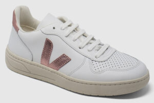 Veja V-10 Leather - white-pearl